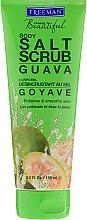 Düfte, Parfümerie und Kosmetik Guaven Körperpeeling mit Meersalz - Freeman Feeling Beautiful Salt Body Scrub Guava