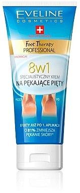 8in1 Fußcreme für rissige Fersen - Eveline Cosmetics Foot Therapy Professional — Bild N1