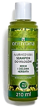 "Düfte, Parfümerie und Kosmetik Anti-Schuppen Shampoo ""Repair & Care"" - Orientana Ayurvedic Shampoo Neem & Green Tea"