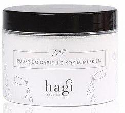Düfte, Parfümerie und Kosmetik Natürlicher Badepuder mit Ziegenmilch - Hagi Bath Puder