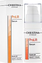 Düfte, Parfümerie und Kosmetik Gesichtsserum mit sofortigem Lifting-Effekt - Christina Clinical Prolift Serum Quick Lift