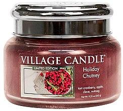 Duftkerze Holiday Chutney - Village Candle Holiday Chutney Glass Jar — Bild N2