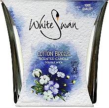 Düfte, Parfümerie und Kosmetik Duftkerze im Glas Cotton Breeze - White Swan Cotton Breeze