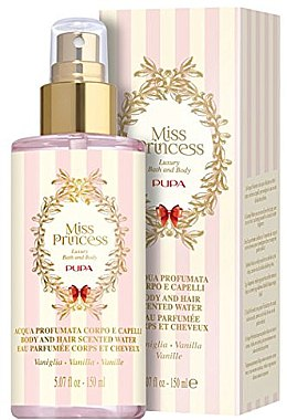Pupa Miss Princess Body and Hair Scented Water Vanilla - Eau de Parfum — Bild N1