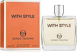 Sergio Tacchini With Style - Eau de Toilette — Bild N1