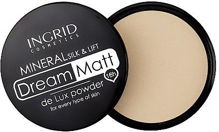 Kompaktpuder - Ingrid Cosmetics Dream Matt De Lux Powder — Bild N1