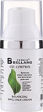 Düfte, Parfümerie und Kosmetik Ausgleichende Tagescreme für das Gesicht mit Gurke und wildem Stiefmütterchen - Fergio Bellaro Oil Control Balancing Daily Face Cream