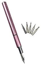 Düfte, Parfümerie und Kosmetik Nageldesign-Stylograph mit auswechselbaren Spitzen rosa - Deni Carte