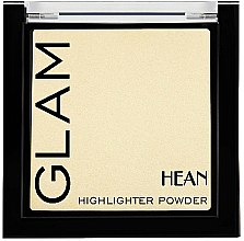 Düfte, Parfümerie und Kosmetik Kompakter Highlighter - Hean Glam Highlighter Powder