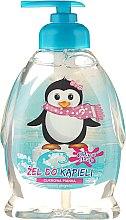 """Düfte, Parfümerie und Kosmetik Haargel für Kinder """"Pinguin"""" - Chlapu Chlap Bath & Shower Gel"""