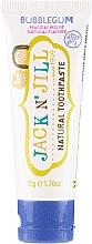 Düfte, Parfümerie und Kosmetik Natürliche fluoridfreie Kinderzahnpasta mit Kaugummi-Geschmack - Jack N' Jill