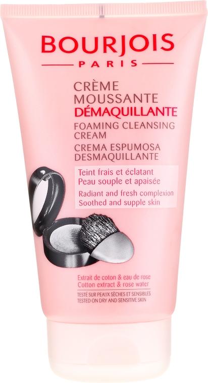 Schäumende Gesichtscreme zum Abschminken - Bourjois Creme Moussante Demaquillante — Bild N1