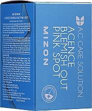 Düfte, Parfümerie und Kosmetik Nachtserum für unreine, fettige und zu Akne neigende Haut - Mizon Acence Blemish Out Pink Spot