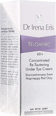 Creme-Konzentrat für die Augenpartie mit Liftingeffekt 60+ - Dr Irena Eris Telomeric Concentrated Re-Tautening Eye Cream SPF20 — Bild N1