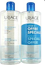 Düfte, Parfümerie und Kosmetik Mizellenwasser für empfindliche Haut - Uriage Thermal Micellar Water Normal Dry Duo