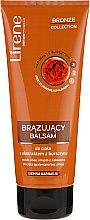 Düfte, Parfümerie und Kosmetik Sebstbräunende Körperlotion mit Bernsteinextrakt für dunkle Haut - Lirene Bronze Collection Bronzing Body Balm