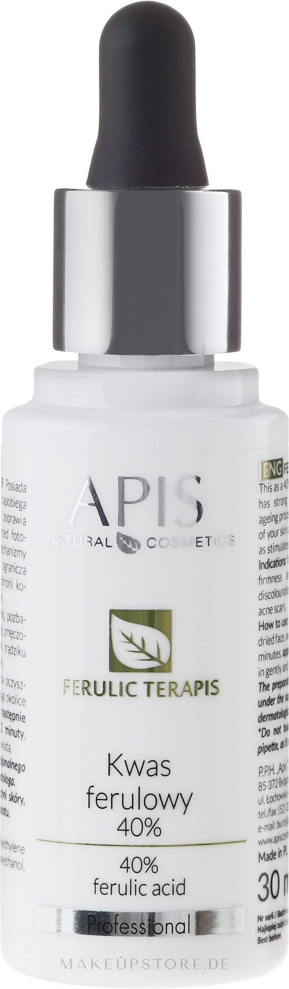 Ferulasäure 40% - APIS Professional Glyco TerApis Ferulic Acid 40% — Bild 30 ml