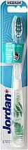 Düfte, Parfümerie und Kosmetik Zahnbürste mittel Individual Clean weiß mit Farn - Jordan Individual Clean Medium