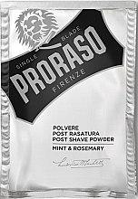 Düfte, Parfümerie und Kosmetik After Shave Puder Minze und Rosmarin - Post Shave Powder Mint & Rosemary