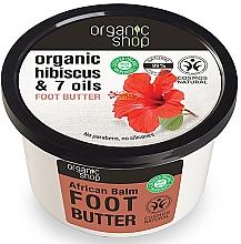 Düfte, Parfümerie und Kosmetik Fußbutter mit Bio Rooibos und 7 Ölen - Organic Shop Organic Rooibos & 7 Oils Foot Butter