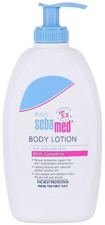 Schützende Körperlotion für Babys - Sebamed Baby Lotion — Bild N2