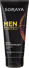 Düfte, Parfümerie und Kosmetik Klärende Gesichtspaste mit Aktivkohle - Soraya Men Energy