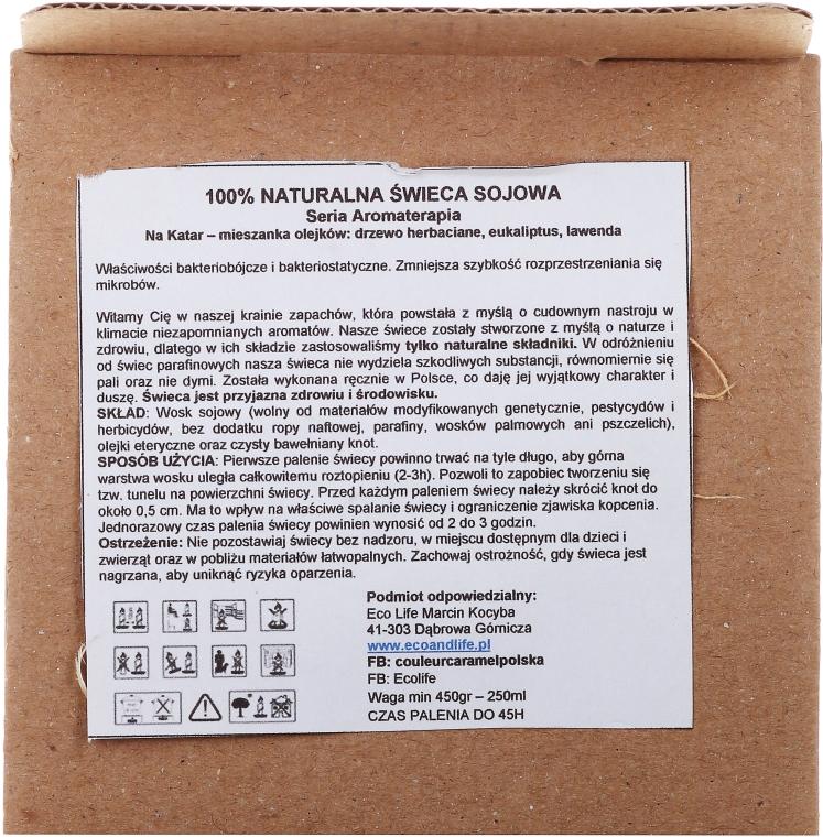 Soja-Duftkerze Colds & Flu - Eco Life Soy Wax Candles — Bild N3