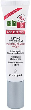 Glättende, nährende und schützende Augenkonturcreme mit Lifting-Effekt und Coenzym Q10 - Sebamed Q-10 Eye Lifting — Bild N1