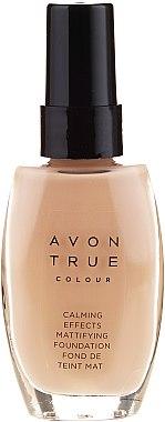 Beruhigende und mattierende Foundation - Avon True Colour Mattifying Foundation — Bild N1