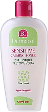 Düfte, Parfümerie und Kosmetik Beruhigendes Gesichtstonikum mit Öliven-Extrakt - Dermacol Sensitive Calming Toner