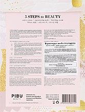 Regenerierende Gesichtsmaske - Pibu Beauty 3 Steps To Beauty Mask — Bild N2