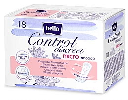 Düfte, Parfümerie und Kosmetik Einlagen bei Blasenschwäche 18 St. - Bella Control Discreet Micro Bladder Control Pads