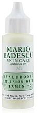 Düfte, Parfümerie und Kosmetik Gesichtsemulsion mit Hyaluronsäure und Vitamin C - Mario Badescu Hyaluronic Emulsion With Vitamin C