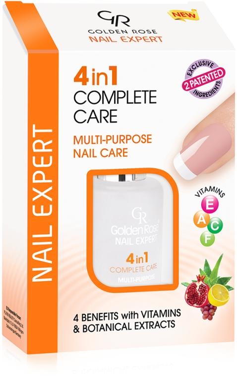 4 in 1 Nagelpflege - Golden Rose Nail Expert 4 in 1 Complete Care — Bild N1
