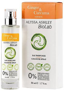 Alyssa Ashley Biolab Ginger & Curcuma - Eau de Cologne — Bild N1