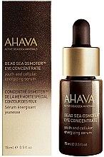 Düfte, Parfümerie und Kosmetik Verjüngendes und energiespendendes Augenkonzentrat - Ahava Active DeadSea Minerals Dead Sea Osmoter Eye Concentrate