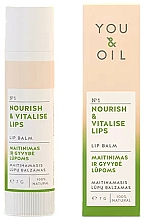 Düfte, Parfümerie und Kosmetik Nährender und vitalisierender Lippenbalsam - You & Oil Nourish & Vitalise Lip Balm