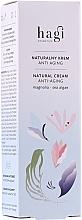 Düfte, Parfümerie und Kosmetik Natürliche Anti-Aging Gesichtscreme mit Magnolie und Meeresalgen - Hagi Natural Face Cream Anti-aging