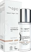 Düfte, Parfümerie und Kosmetik Hypoallergene feuchtigkeitsspendende Tages- und Nachtcreme mit γ-Polyglutaminsäure - Yappco Hypoallergenic Moisturizer Face Cream