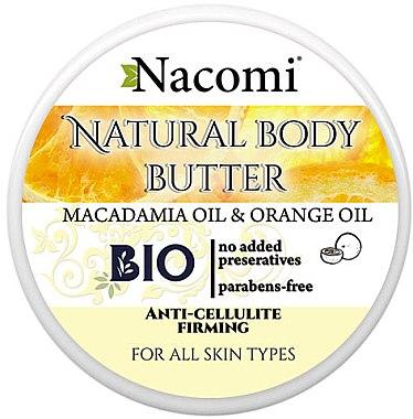 Körperöl - Nacomi Body Butter Sunny Orange Sorbet — Bild N1