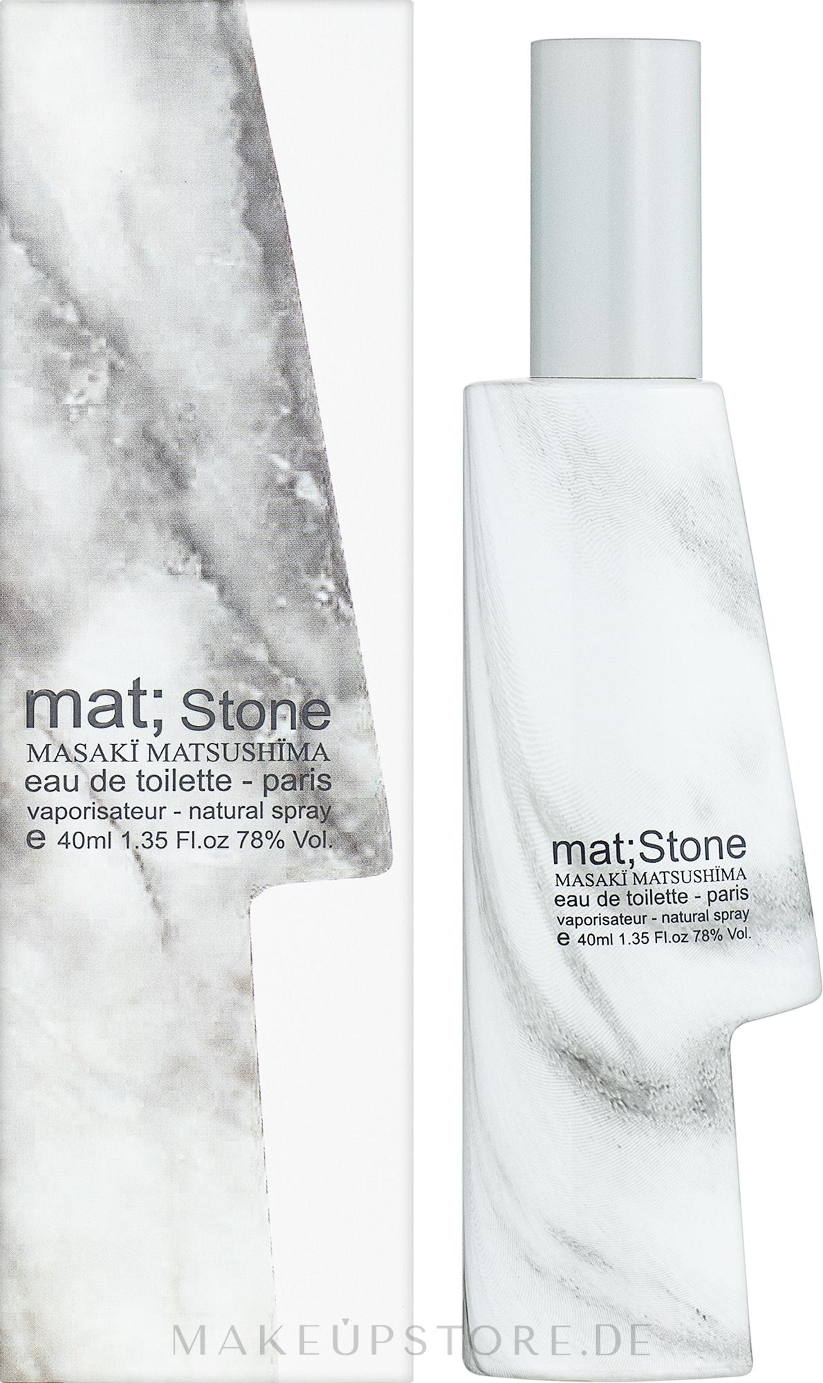 Masaki Matsushima mat; stone - Eau de Toilette  — Bild 40 ml