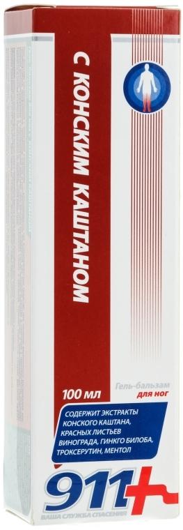 Fußgel-Balsam mit Rosskastanienextrakt - 911  — Bild N3