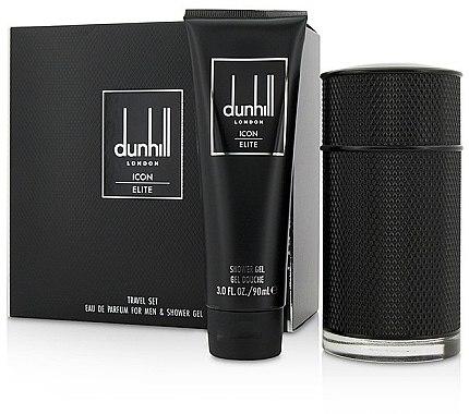 Alfred Dunhill Icon Elite - Duftset (Eau de Parfum 100ml + Duschgel 90ml) — Bild N1