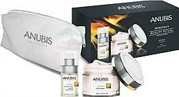 Düfte, Parfümerie und Kosmetik Gesichtspflegeset - Anubis Effectivity Beauty Ritual (Gesichtscreme 60ml + Gesichtskonzentrat 15ml + Kosmetiktasche)