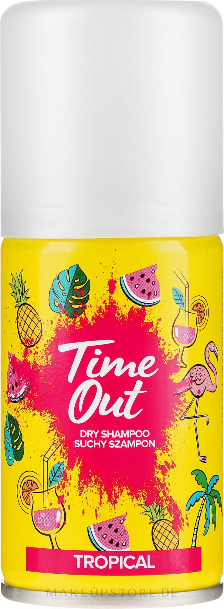 Trockenshampoo Tropical - Time Out Dry Shampoo Tropical — Bild 75 ml