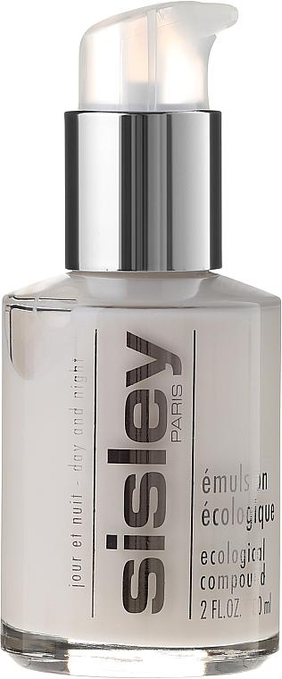 Gesichtsemulsion für Tag und Nacht für alle Hauttypen - Sisley Emulsion Ecologique Ecological Compound — Bild N2