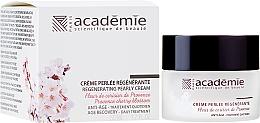Düfte, Parfümerie und Kosmetik Regenerierende Gesichtscreme mit Perlen und Kirschblüte - Academie Regenerating Pearly Cream