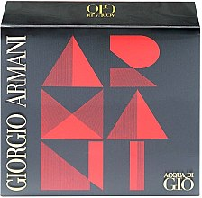 Düfte, Parfümerie und Kosmetik Giorgio Armani Acqua di Gio - Duftset (Eau de Toilette 50ml + After Shave Balsam 75ml + Duschgel 75ml)
