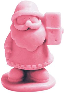 Handgemachte Glycerinseife Nikolaus mit Kirschduft - LaQ Happy Soaps Natural Soap — Bild N1