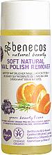 Düfte, Parfümerie und Kosmetik Sanfter natürlicher Nagellackentferner mit Bio Orangenschalen- und Lavendelöl - Benecos Natural Nail Polish Remover